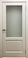Межкомнатные двери модель Лаура (слоновая кость), фото 1