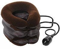 Тройная надувная подушка - воротник для вытягивания шеи