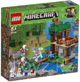 Lego Minecraft 21146 Нападение армии скелетов  Лего Майнкрафт