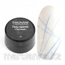 Гель-краска Паутинка Monami #3 (голубая), 5гр