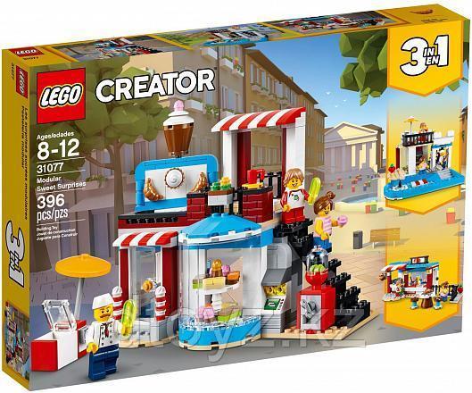 Lego Creator 31077 Модульные сборка: приятные сюрпризы Лего Креатор