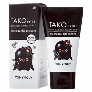 Маска пленка/Tako Pore Sebum Ssok Ssok Peel Off Pack [TonyMoly]