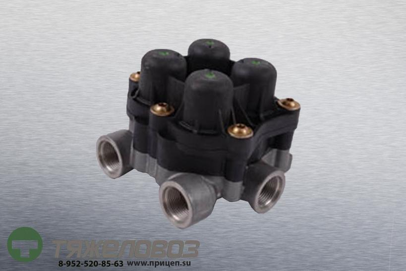 Клапан защитный 4-х контурный ЗИЛ, КАМАЗ, МАЗ, MB, MAN 9347144000