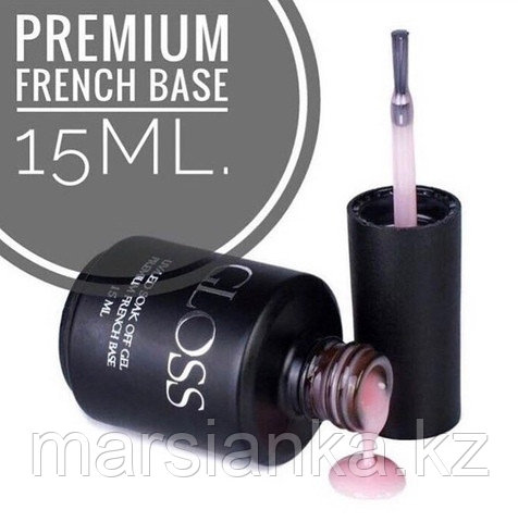 Premium French Base Gloss (база камуфляж), 15ml
