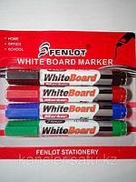 Набор маркеров для белой доски  . упаковка 4 шт