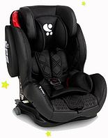 Детское автокресло Bertoni Lorelli Titan +SPS Isofix Black Leather (9-36 кг)
