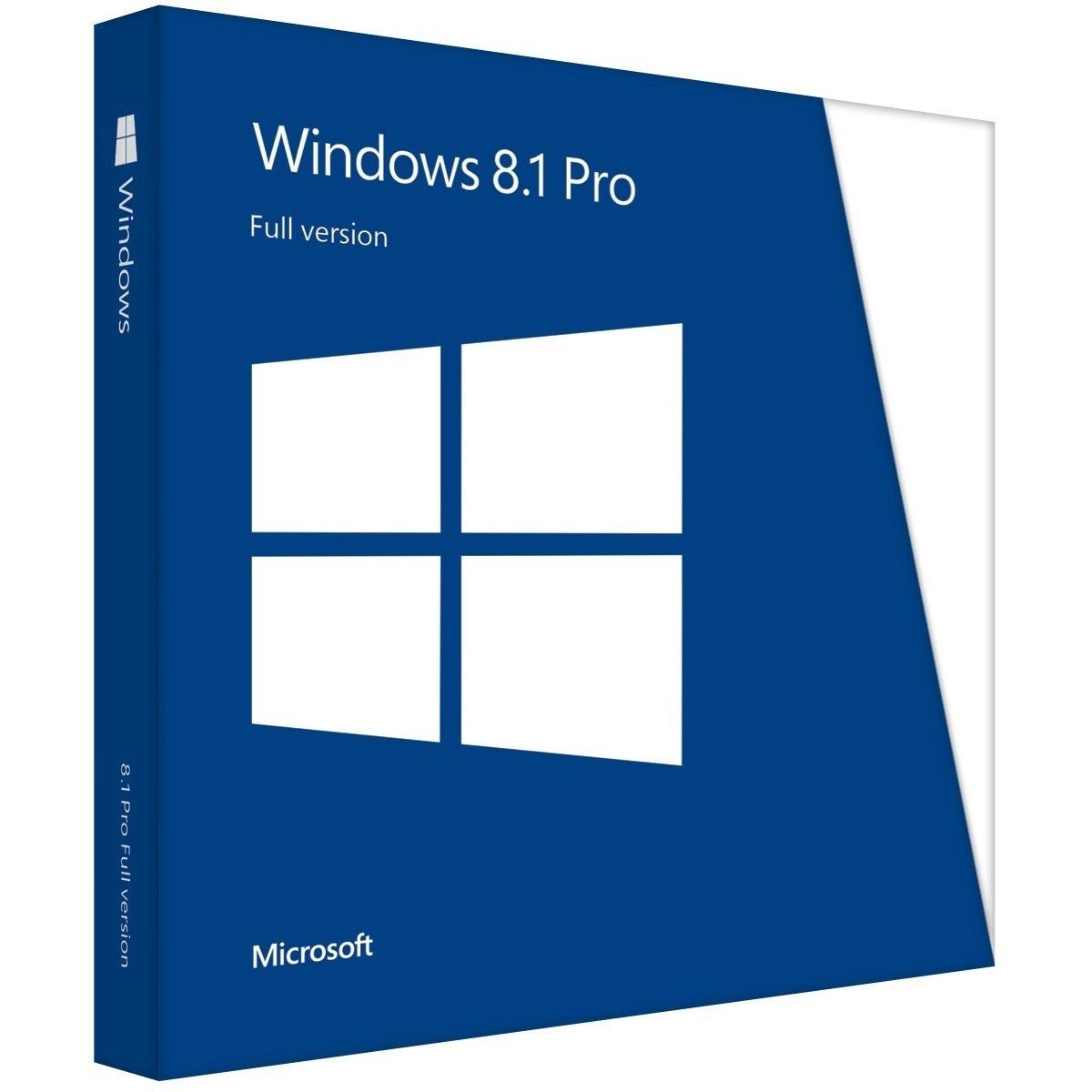 Microsoft Windows 8.1 Pro 32/64-bit BOX