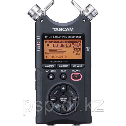 Tascam DR-40 + Tascam Filmmaking Accessory Package