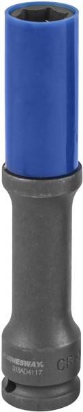 Головка торцевая ударная тонкостенная глубокая для колесных дисков 17 мм (S18AD4117)