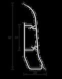 Плинтус IDEAL Элит 67мм Клен северный 263, фото 2