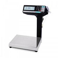 Весы  с печатью этикеток до 15 кг МАССА-К  МК-15.2-RP-10-1