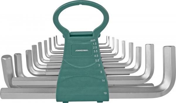 Набор ключей торцевых шестигранных удлиненных 1,5-19мм.18 предметов
