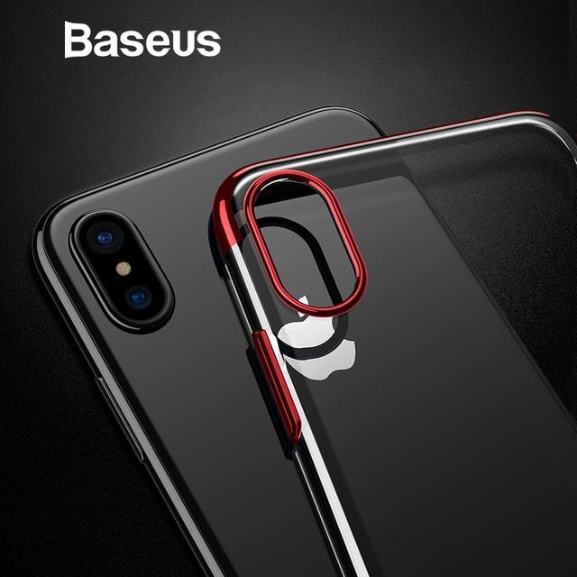 Чехол для Baseus iPhone X Пластик