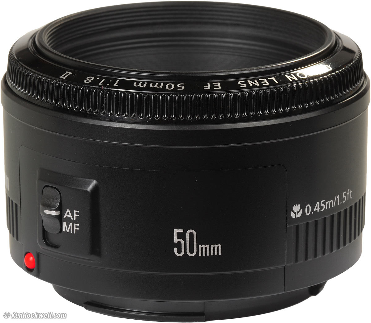Объектив Canon EF 50mm f/1.8 II - Ruba Technology в Алматы