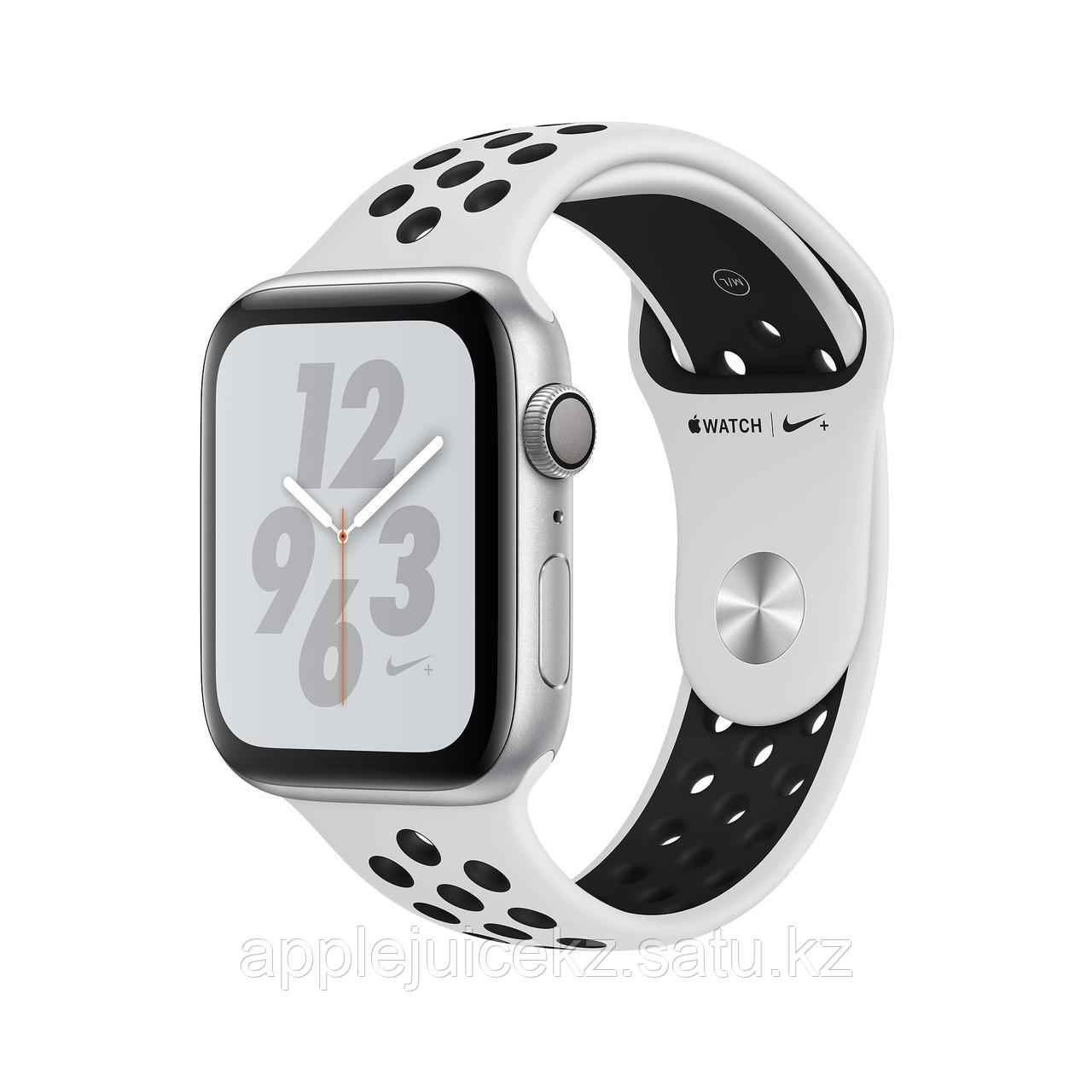 Apple Watch Series 4 40mm Nike+ Silver Aluminum Case with Pure Platinum/Black Nike Sport Band