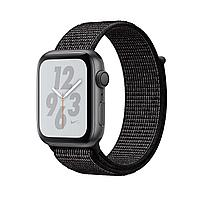 Apple Watch Series 4 40mm Nike+ Space Gray Aluminum Case with Black Nike Sport Loop, фото 1