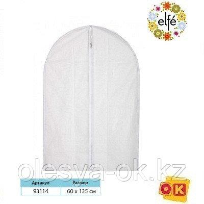 Чехол для хранения одежды на молнии, PEVA, 60 х 135 см. Elfe