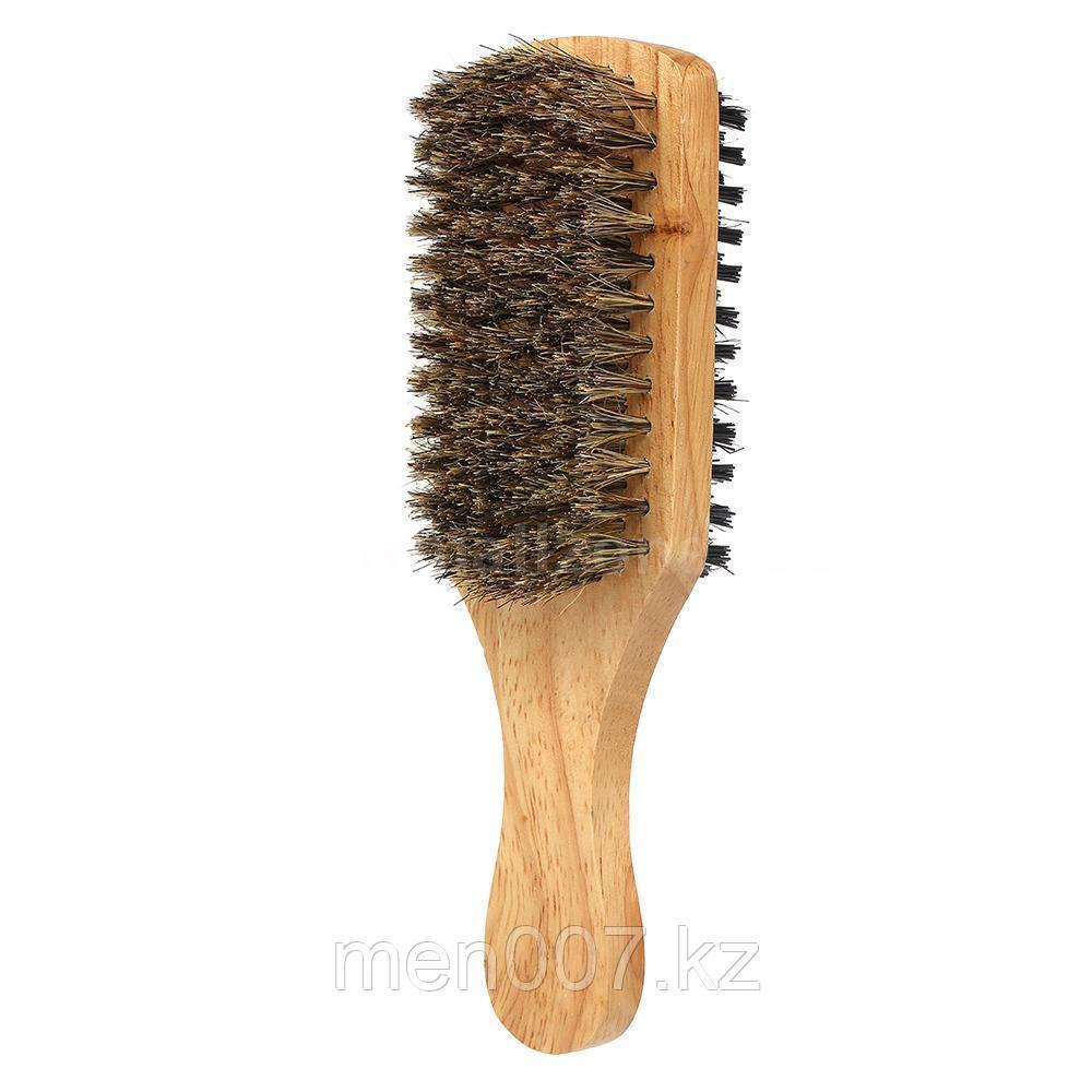 Средняя двусторонняя щетка для бороды