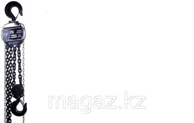Таль ручная цепная LB HSZ-J, грузоподъемность-1т, высота подъема-3м., фото 2
