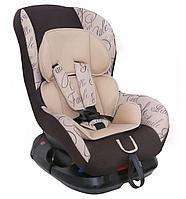 """Детское автомобильное кресло SIGER ART """"Наутилус"""" котики, 0-4 лет, 0-18 кг"""