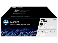 Картридж HP 78A Dual Black Print Cartridge for LaserJet 1566/1606/1536, up to 2100 pages.