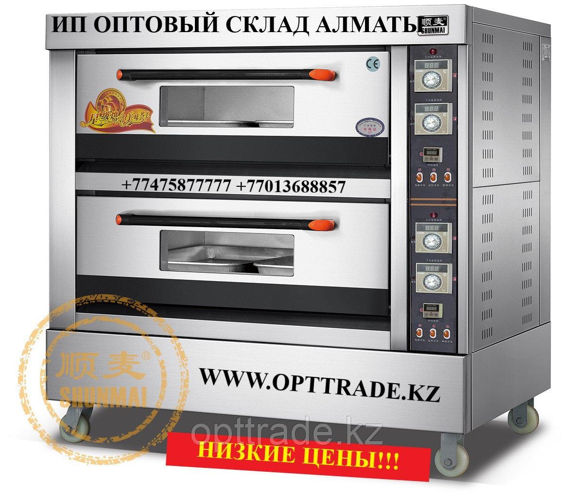 Пекарская печь газовая - 2 яруса на 6 противней