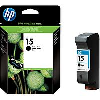 Картридж Large Black Inkjet Print Cartridge №15 for DJ840/845 , 25 ml, up to 495 pages, 5%. C6615DE
