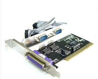 PCI card Multi-Iinput/Output Parallel & Serial Card (LPT & COM RS232*2) Chip CH353L+CD
