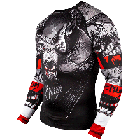 Рашгард Venum Werewolf Rashguard Long Sleeves Black