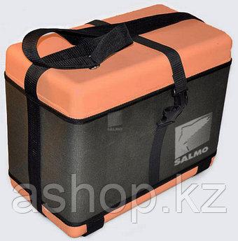 Ящик для замней рыбалки Salmo PL-1R, Пластик, Цвет: Оранжево-чёрный, Упаковка: Розничная
