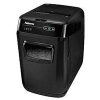 Шредер Fellowes® AutoMax® 130C, автоподача, DIN P-3, 4х51мм, 130лст. авто, 8 ручн., 32 лтр.