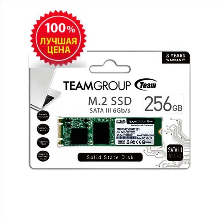 SSD-накопитель Team Group M.2 Lite 256Gb