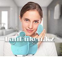 Настраиваемая щетка для чистки и spa-массажа лица LUNA mini 2 (3-зонная очищающая поверхность щетка)