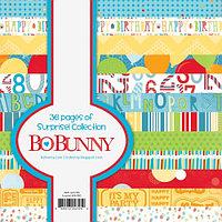 Бумага 6х6 - сюрприз! Bo Bunny