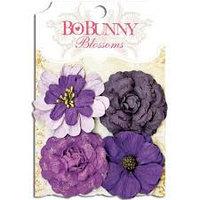 "Набор цветов ""Plum Purple Zinnia"" Bo Bunny"