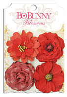 "Bo Bunny Набор цветов ""Wildberry Zinnia"""