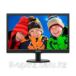 "Монитор 19.5"" PHILIPS 203V5LSB26/62/10 Чёрный"
