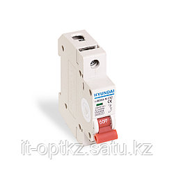 Автоматический выключатель реечный HYUNDAI HIBD63-N 1PMCS0000C 1Р 32А
