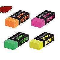 Ластик 43х18х11мм, для стирания простых/цветных карандашей, NEON Faber-Castell