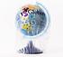 Глобус физический диаметр 150мм , фото 2