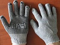 Перчатки хозяйственные с полимерным покрытием