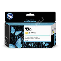 Картридж HP P2V64A HP 730 Yellow Ink Cartridge for DesignJet T1700, 130 ml. HP 730 130-ml Yellow Ink Cart