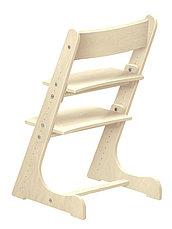 Детский растущий (регулируемый) стул Конек Горбунек. Ортопедический стул. (лакированный), фото 2