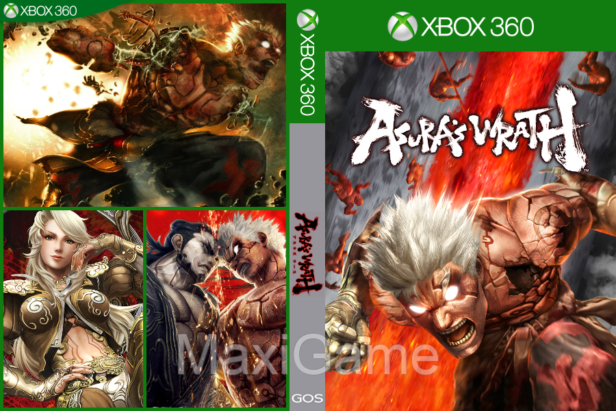 Asura's Wrath (Action) - MaxiGame в Алматы