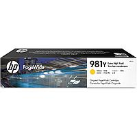Картридж струйный HP L0R15A 981Y Extra High Yield Yellow