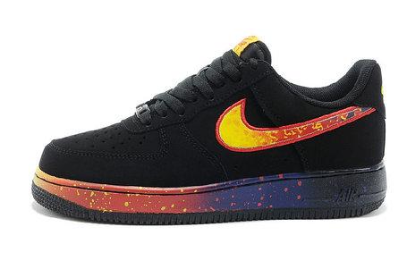 Кроссовки Nike Air Force One черный астероид, фото 2