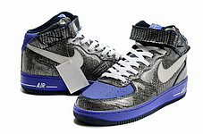 Кроссовки Nike Air Force One Premium графит, фото 3