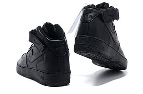 Кроссовки Nike Air Force Mid черные в Казахстане, фото 2