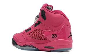 Nike Air Jordan 5 Retro розовые Акула, фото 3