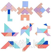 Головоломка 3 в 1: Танграм, Тетрис и форма-Т, фото 2